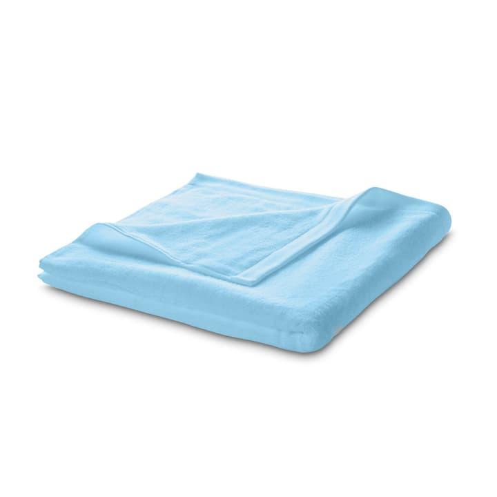 ROYAL Linge de bain 374058600000 Couleur Bleu clair Dimensions L: 160.0 cm x P: 90.0 cm Photo no. 1