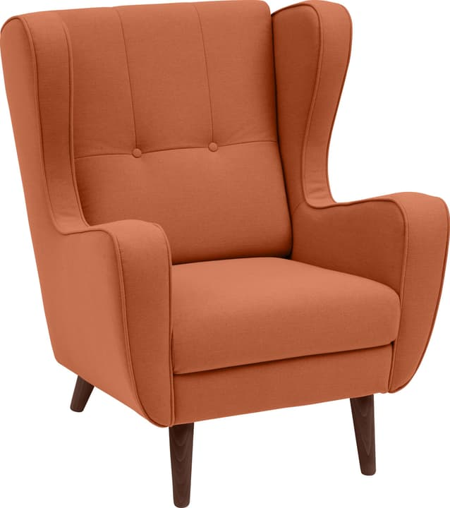 BRAHMS Sessel 402462907057 Grösse B: 80.0 cm x T: 90.0 cm x H: 97.5 cm Farbe Orange Bild Nr. 1