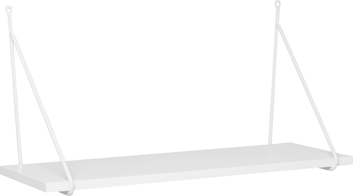 JOSHUA Scaffale pensile 407555700000 Dimensioni L: 60.0 cm x P: 20.0 cm x A: 30.0 cm Colore Bianco N. figura 1