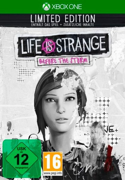 Xbox One - Life is Strange Before the Storm Limited Edition (D) Fisico (Box) 785300132487 N. figura 1