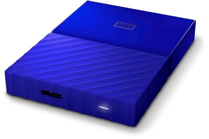 My Passport 1TB Disque externe 2.5'' bleu Disque Dur Externe HDD Western Digital 785300124414 Photo no. 1