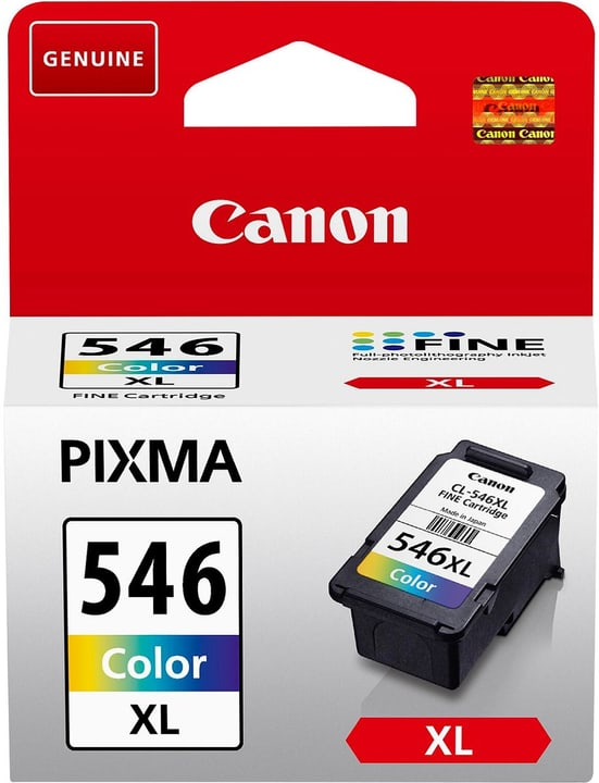 CL-546XL  multicolor Cartouche d'encre Canon 795820200000 Photo no. 1