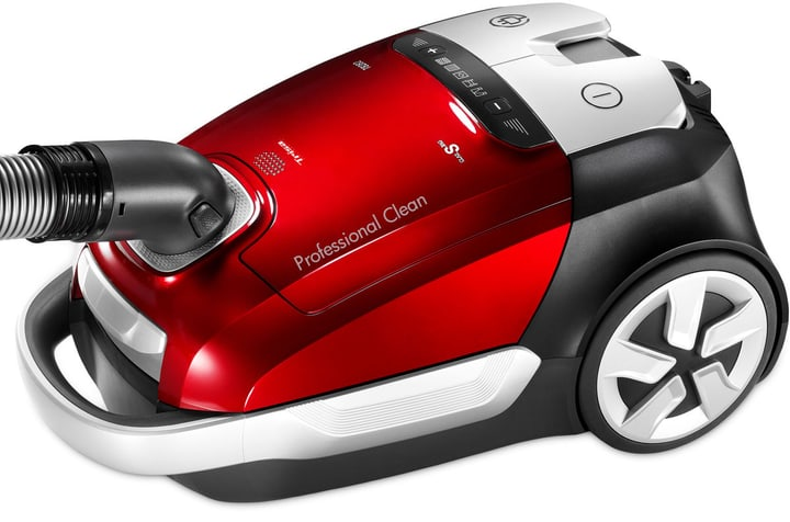 Professional Clean T8282 rot Schlittenstaubsauger Trisa Electronics 785300145635 Bild Nr. 1