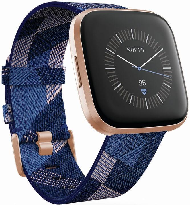 Versa 2 SE Navy & rose Woven Smartwatch Fitbit 798707400000 Photo no. 1