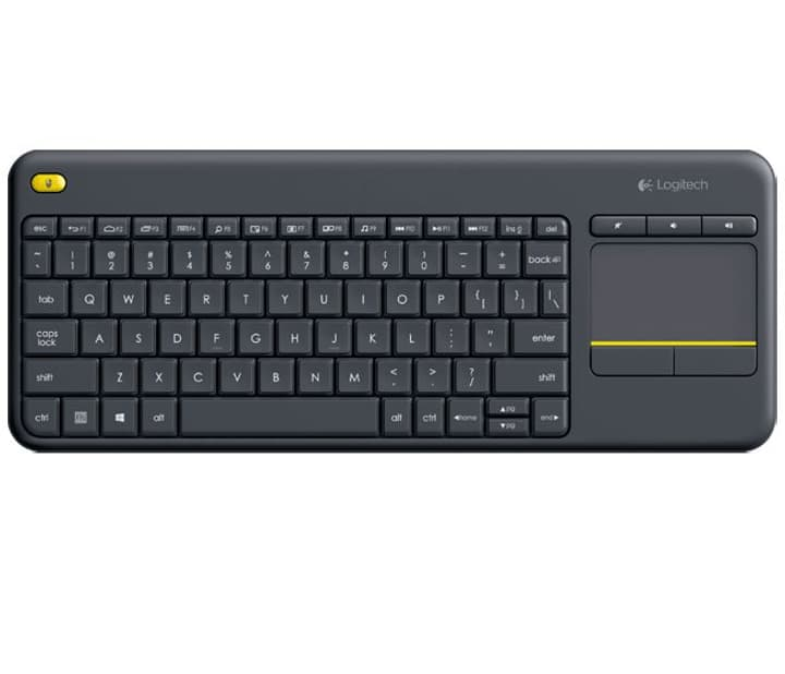 K400 Plus Wireless Tastatur mit Touchpad Logitech 797973600000 Bild Nr. 1