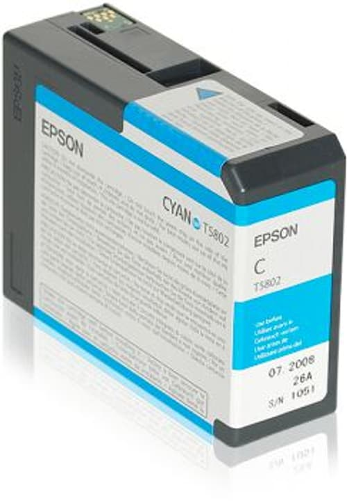 T5802 cyan cartouche d'encre Epson 798282200000 Photo no. 1