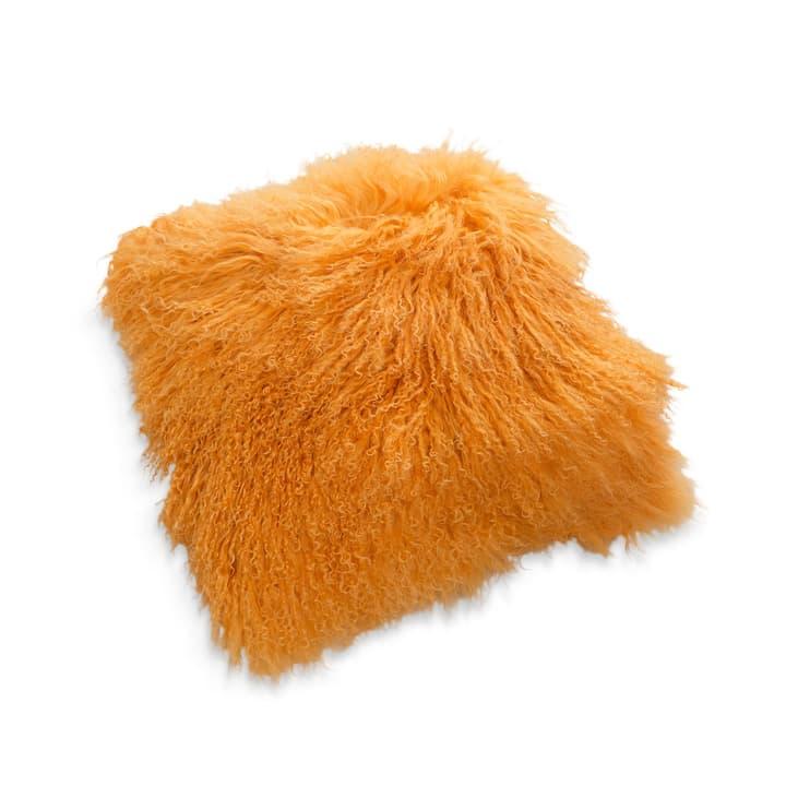 PANYA pelle di pecora cuscino 378057500000 Colore Arancione Dimensioni L: 40.0 cm x A: 40.0 cm N. figura 1