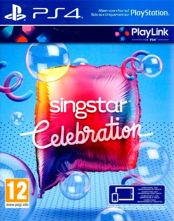 PS4 - SingStar Celebration Physique (Box) 785300130183 Photo no. 1