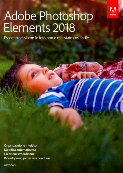 PC - Photoshop Elements 2018 (I) Physique (Box) Adobe 785300130199 Photo no. 1