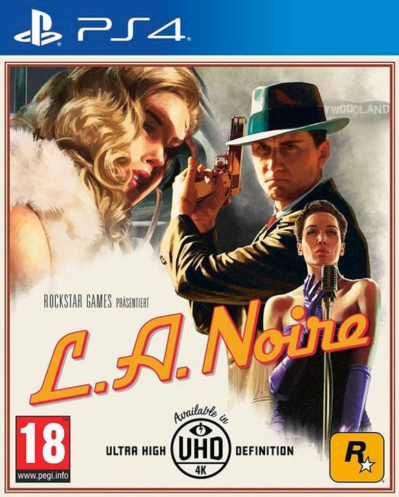 PS4 - L.A. Noire F 785300130394 Bild Nr. 1