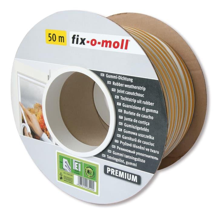 E-Profil Gummi Dichtung 9x4mm x 50m Fix-O-Moll 673006700000 Bild Nr. 1