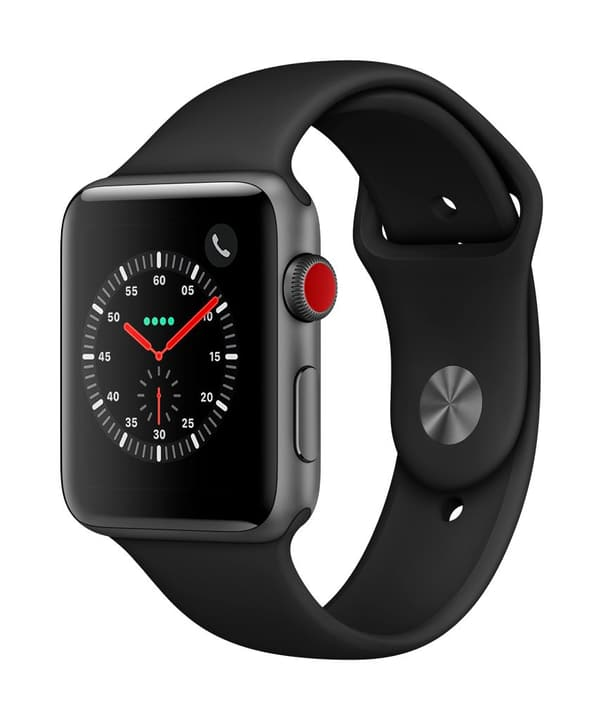Watch Series 3 GPS/LTE 42mm spacegray/black Apple 785300130047 Photo no. 1