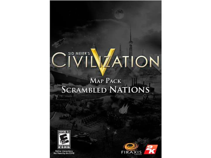 PC - Sid Meier's Civilization V: Scrambled Nations Map Pack Download (ESD) 785300133283 N. figura 1