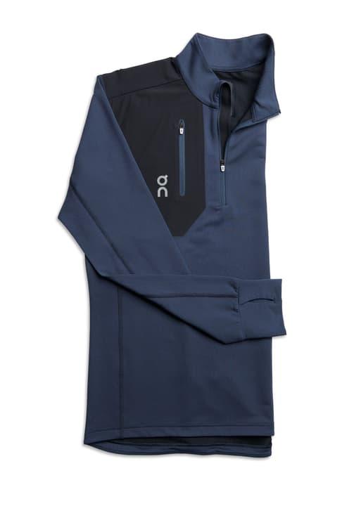 Weather-Shirt Maillot à manches longues pour homme On 470141600343 Couleur bleu marine Taille S Photo no. 1