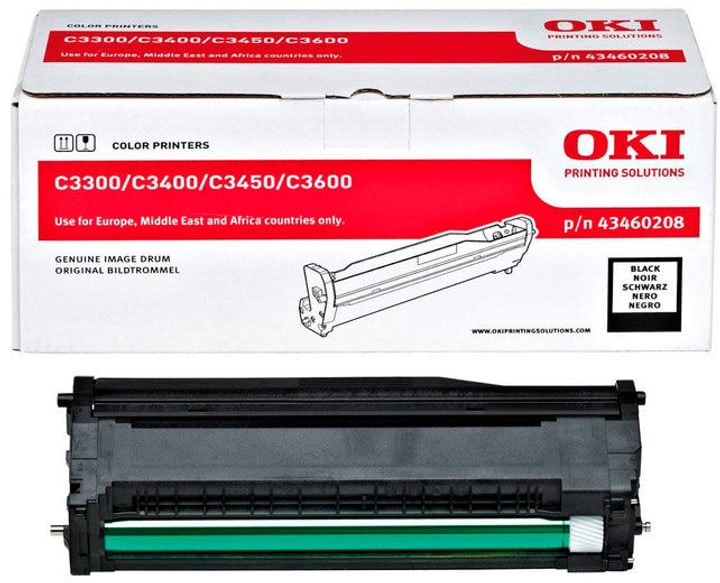 43460208 schwarz Tonerkassette OKI 796046300000 Bild Nr. 1