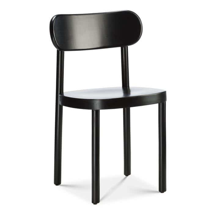 SILEX Chaise Edition Interio 366139700020 Couleur Noir Dimensions L: 44.0 cm x P: 45.0 cm x H: 78.0 cm Photo no. 1