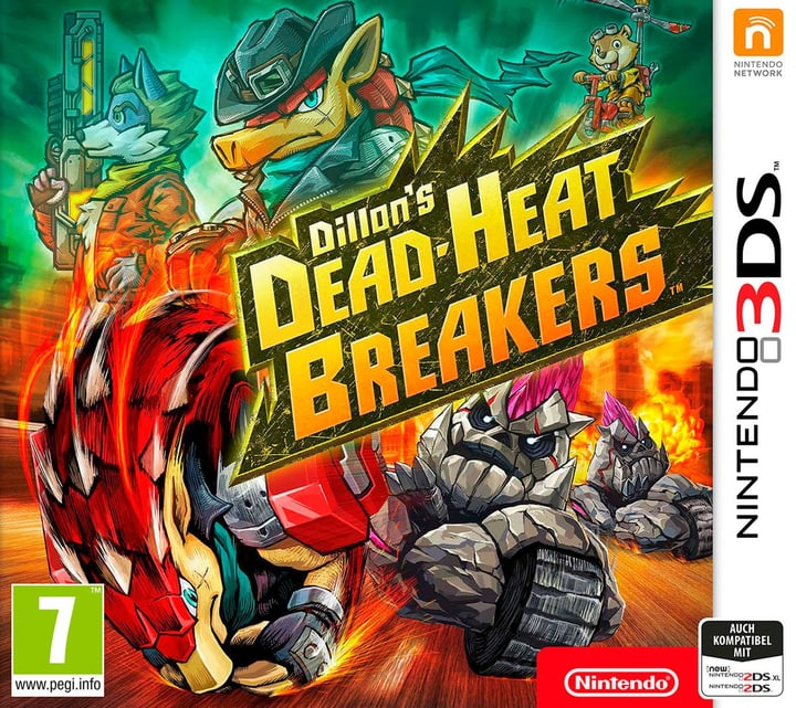 3DS - Dillon's Dead-Heat Breakers (I) Fisico (Box) 785300133271 N. figura 1