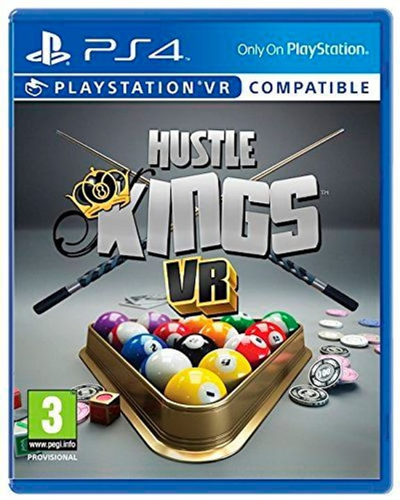 PS4 - Hustle Kings VR Physique (Box) 785300121812 Photo no. 1