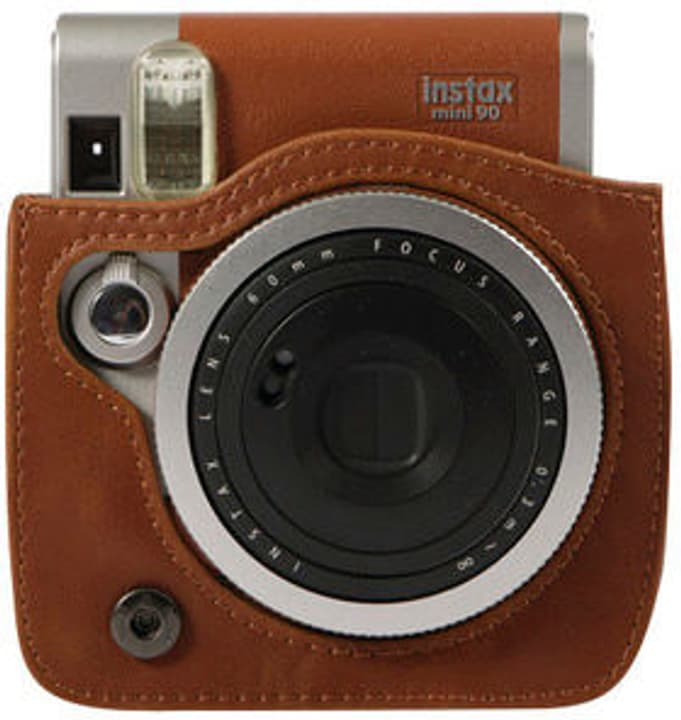 Instax Mini 90 Leather Case Brown FUJIFILM 785300127395 Photo no. 1