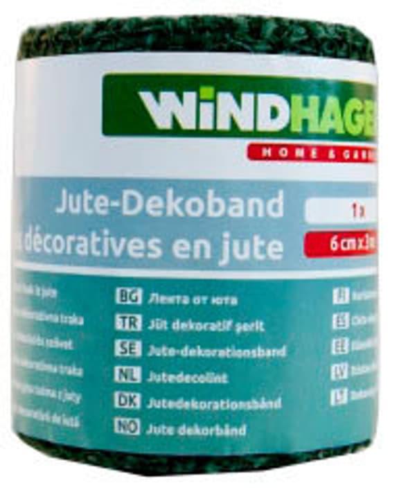 Ban décorative jute vert Windhager 631274000000 Photo no. 1