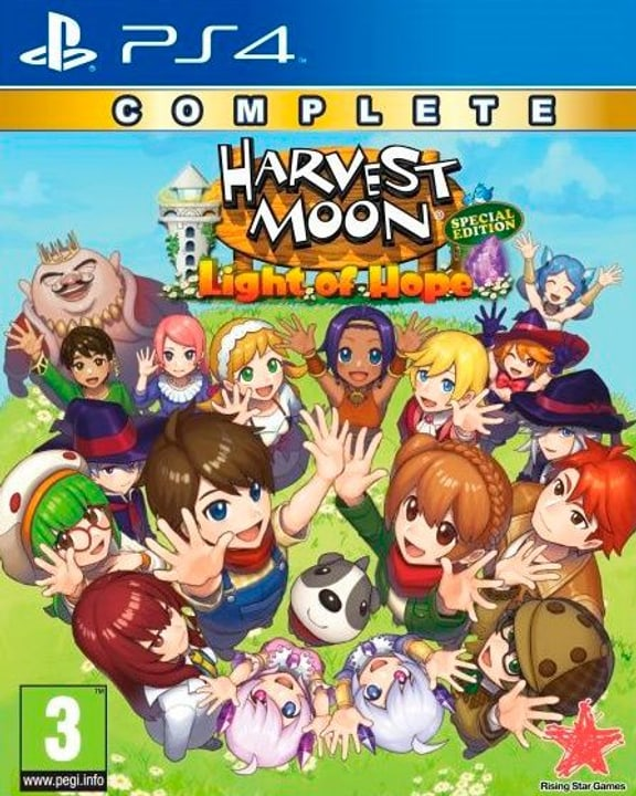 PS4 - Harvest Moon Light of Hope Complete Special Edition D Box 785300146871 N. figura 1