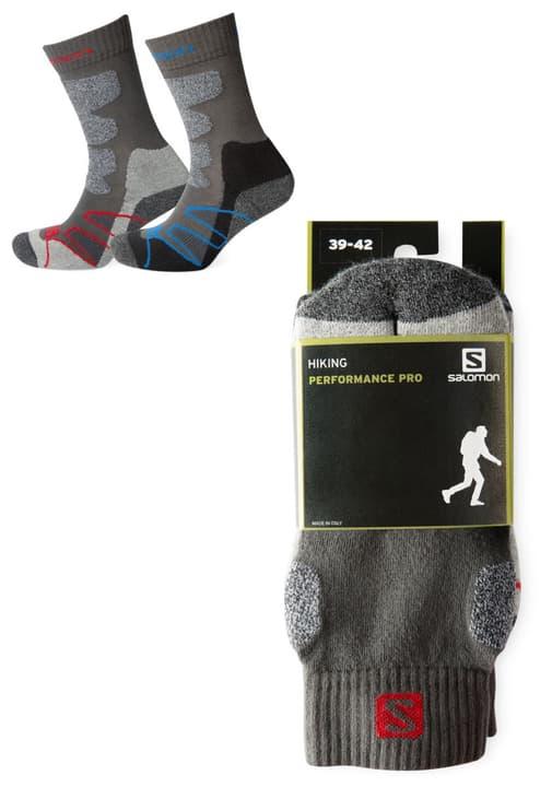 Hiking Performance Pro Chaussettes de trekking unisexe Salomon 497157335120 Couleur noir Taille 35-38 Photo no. 1