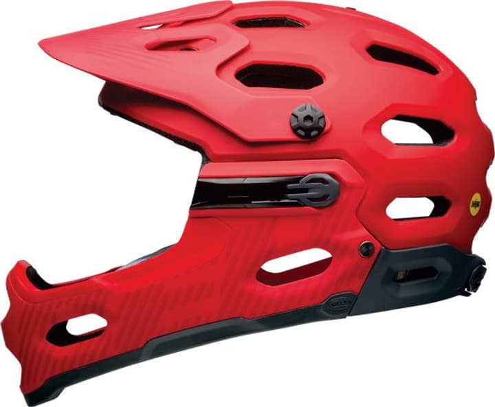 Super 3R Casque de velo Bell 465009555130 Couleur rouge Taille 55-59 Photo no. 1