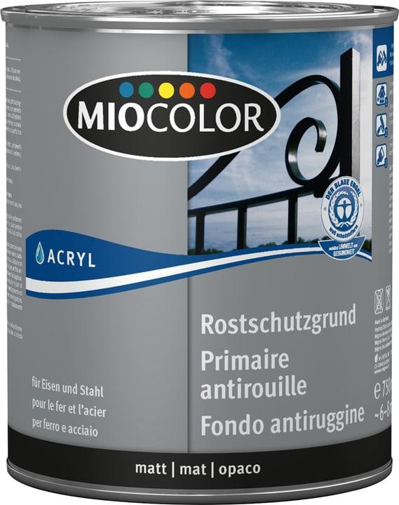 Primaire acrylique antirouille Gris 750 ml Miocolor 660561800000 Couleur Gris Contenu 750.0 ml Photo no. 1