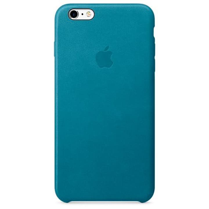 iPhone 6s Plus Coque en cuir Bleu marine Coque Apple 785300125200 Photo no. 1