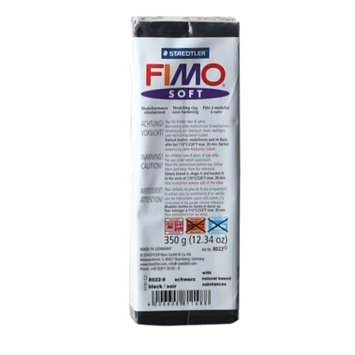 Soft grand noir Fimo 665305900000 Couleur Noir Photo no. 1