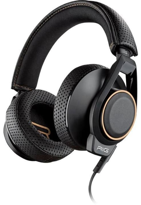 RIG 600 High Fidelity Stereo Gaming Headset - noir Plantronics 785300131494 Photo no. 1