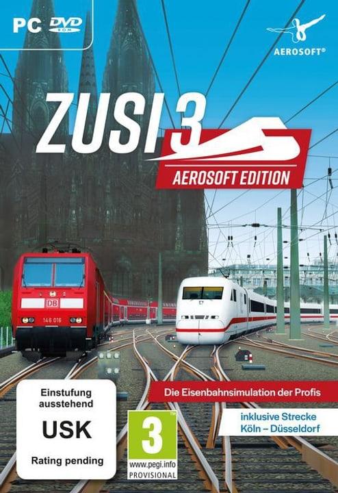 PC - Zusi Aerosoft Edition + Strecke Köln-Düsseldorf D Box 785300141725 Bild Nr. 1
