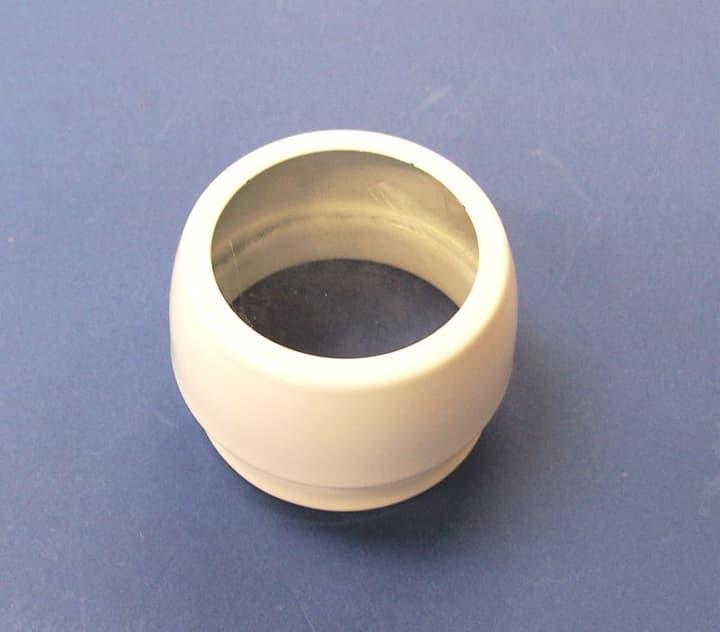 Spotkappe weiss m/Glas D50x3 9000004016 Bild Nr. 1