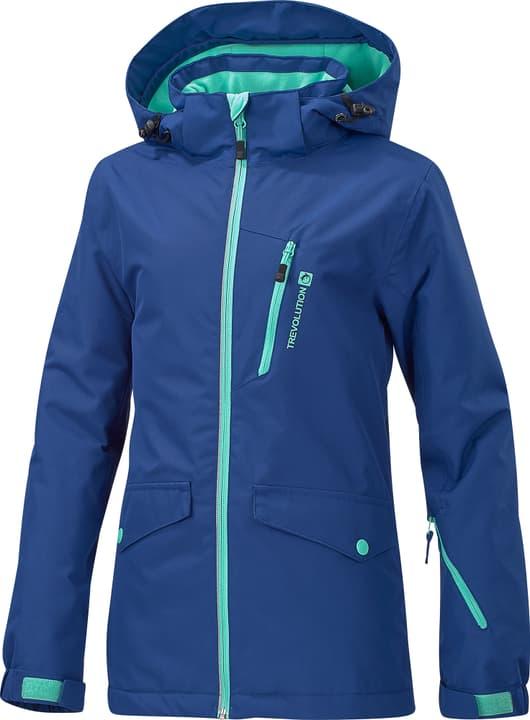 Mädchen-Skijacke Trevolution 464570814043 Farbe marine Grösse 140 Bild-Nr. 1