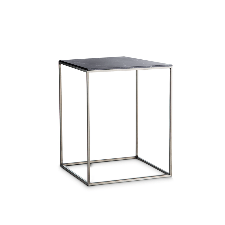COFFEE table d'appoint 362231600000 Colore Nero varie fantasie Dimensioni L: 40.0 cm x P: 40.0 cm x A: 51.0 cm N. figura 1