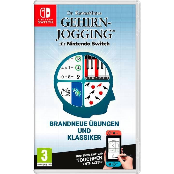 NSW - Dr. Kawashimas Gehirn-Jogging Box Nintendo 785300149098 Langue Allemand Plate-forme Nintendo Switch Photo no. 1