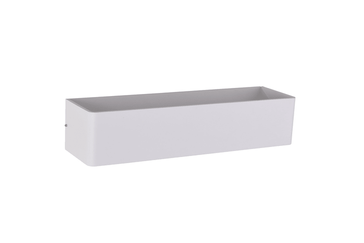 NEVIO Lamp. da parete 37.5cm 420374700038 Dimensioni L: 38.0 cm x A: 8.0 cm Colore Bianco N. figura 1