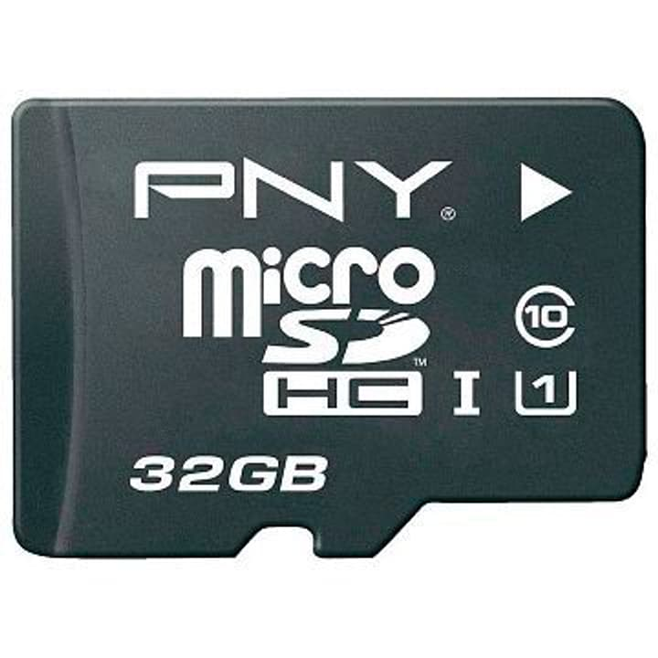microSDHC Card HighPerformance 80MB/s 32GB inkl. SD Adapter PNY Technologies 798213700000 Photo no. 1