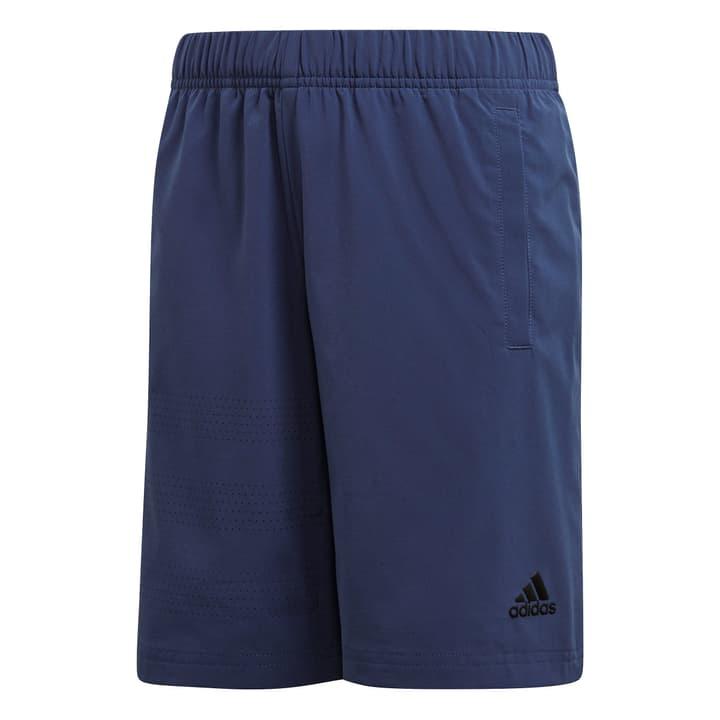 YB HERO SHORT Short pour garçon Adidas 464529115247 Couleur denim Taille 152 Photo no. 1