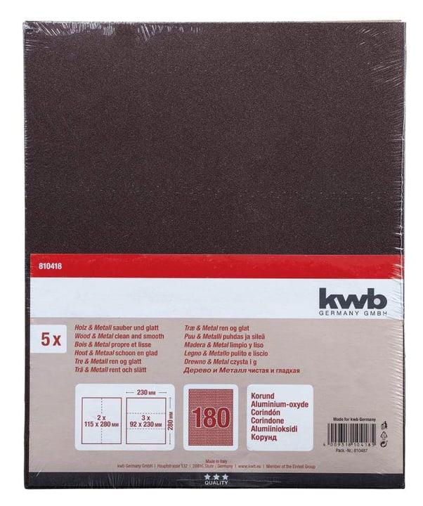 Schleifbogen Korund K 180, 5 Stk. kwb 610552200000 Bild Nr. 1