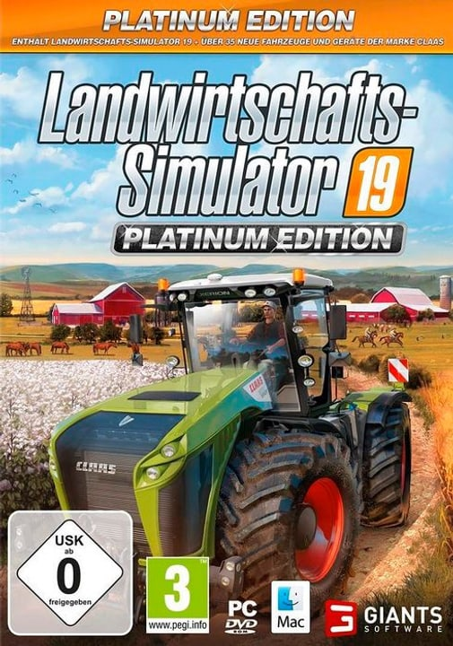 PC - Landwirtschafts-Simulator 19 - Platinum Edition D Box 785300146842 Photo no. 1