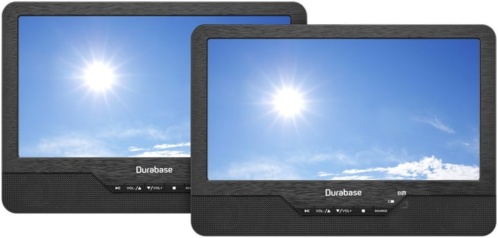 Twin 2.0 portable DVD Player Durabase 771140900000 Photo no. 1