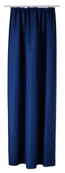 VALENTINE Fertigvorhang lichtdicht 430263221340 Farbe Blau Grösse B: 140.0 cm x H: 260.0 cm Bild Nr. 1