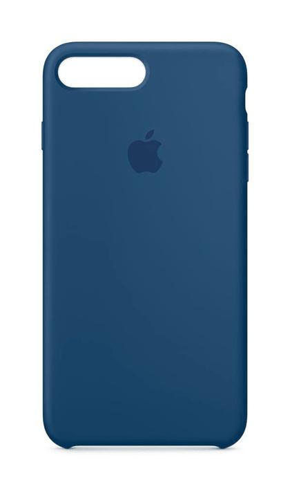 iPhone 8 plus & 7 plus coque en silicone bleu de cobalt Coque Apple 785300130029 Photo no. 1