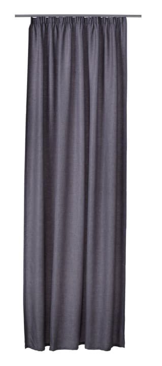 CRISTIANO Rideau prêt à poser nuit 430253921880 Couleur Gris Dimensions L: 150.0 cm x H: 260.0 cm Photo no. 1