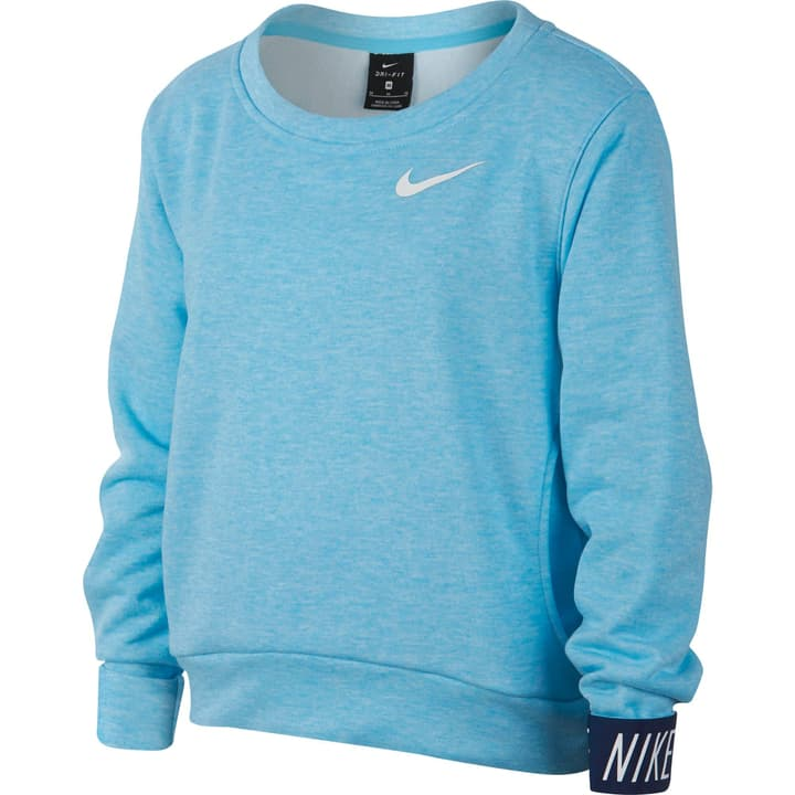 Dry Pullover Pull-over pour fille Nike 464578912841 Couleur bleu claire Taille 128 Photo no. 1
