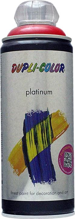 Peinture en aérosol Platinum brillante Dupli-Color 660834900000 Couleur Rouge signalisation Contenu 400.0 ml Photo no. 1