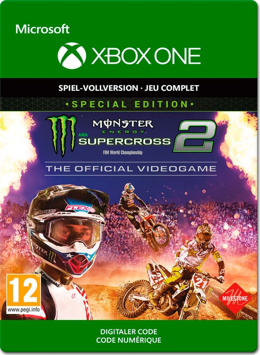 Xbox One - Monster Energy Supercross 2 Special Edition Download (ESD) 785300141861 N. figura 1
