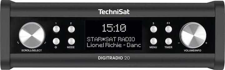 DigitRadio 20 - Anthrazit Radio DAB+ Technisat 785300139503 Photo no. 1