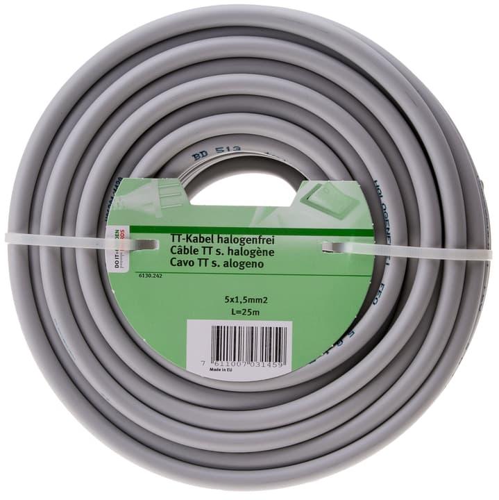 TT câble d'installation halogène Do it + Garden 613024200000 Couleur Gris Photo no. 1
